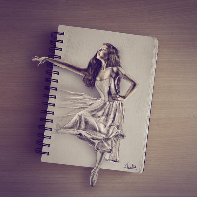 Sketched